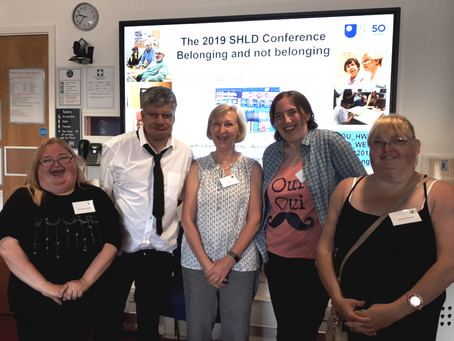 Getting involved in the community – what stops us; findings from our inclusive research project