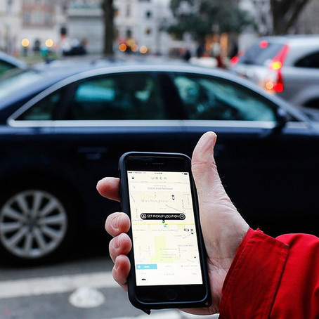 Need a Ride? Grab an Uber or Lyft!