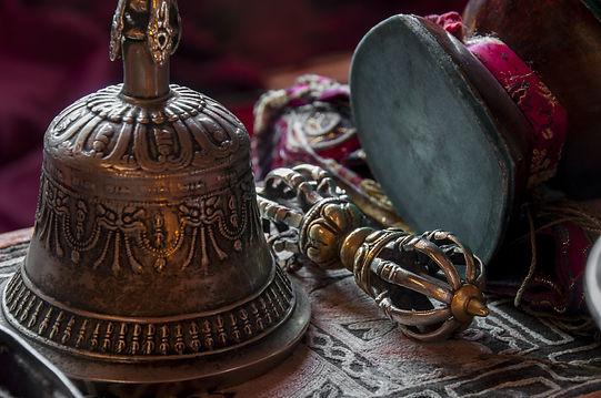 Buddhist religious equipment - Vajra Dorje and bell.jpg
