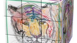 """Art-Cubes"" ... TJILI's Art + Rubik's Cubes"