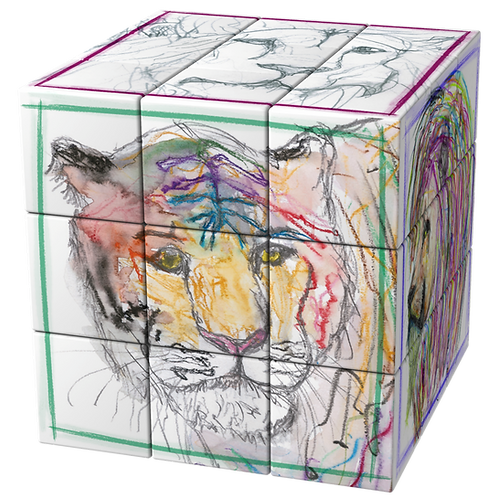 """Purrrfect"" Art-Cube"