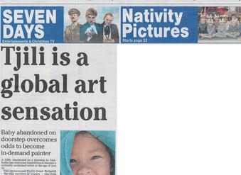 ROMSEY ADVERTISER ARTICLE:  Tjili is a global art sensation