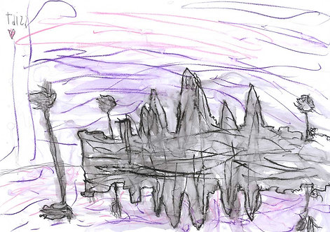 Purple Haze. Angkor Wat