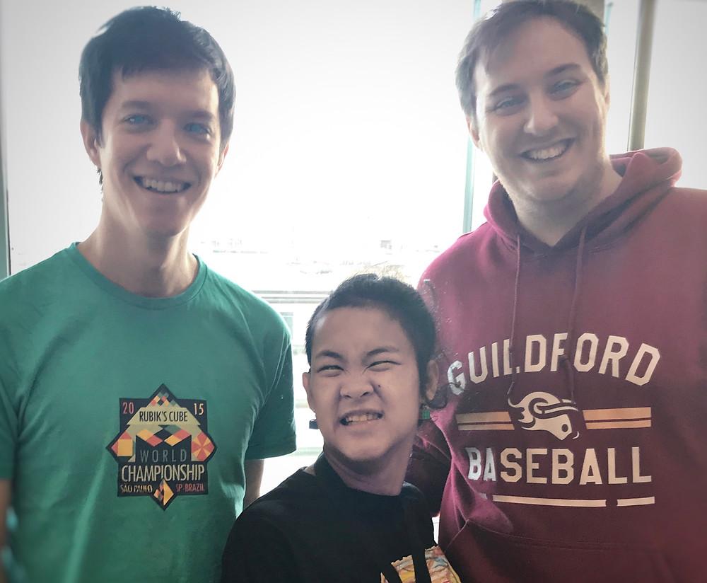 TJILI with UKCA's Daniel Sheppard and James Molloy