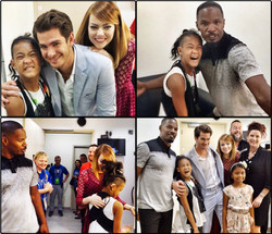 TJILI meets The Amazing Spider-Man 2 team