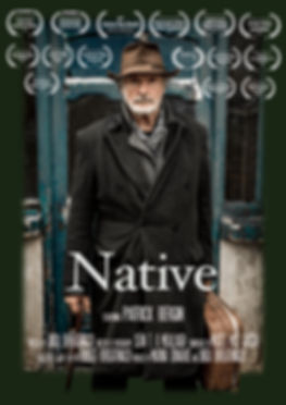 A Native MASTER poster with 15 laurels W