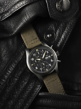 Iwc - Leather social campaign