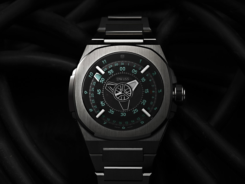 Dwiss M1 watch print adv
