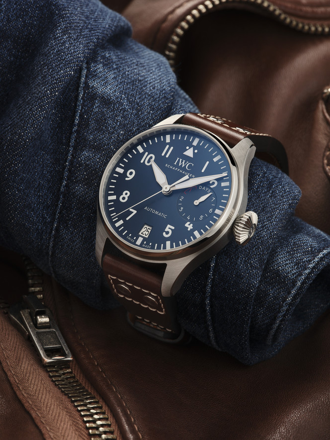 Iwc leather editorial