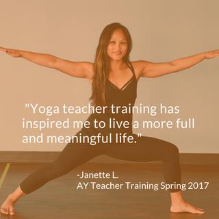 janette 200 HR Yoga Teacher