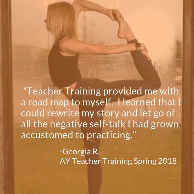 Georgia 200 HR Yoga Teacher