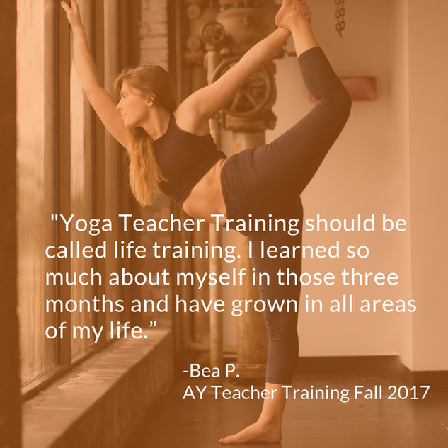 Bea 200 HR Yoga Teacher