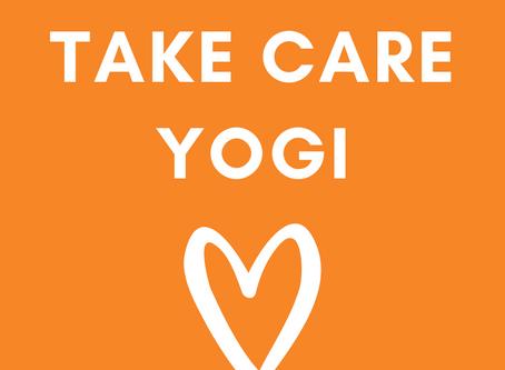 Take Care Yogi