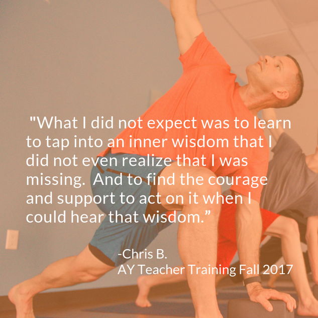 Chris B 200 HR Yoga Teacher