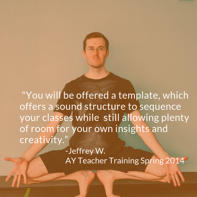jeffrey 200 HR Yoga Teacher