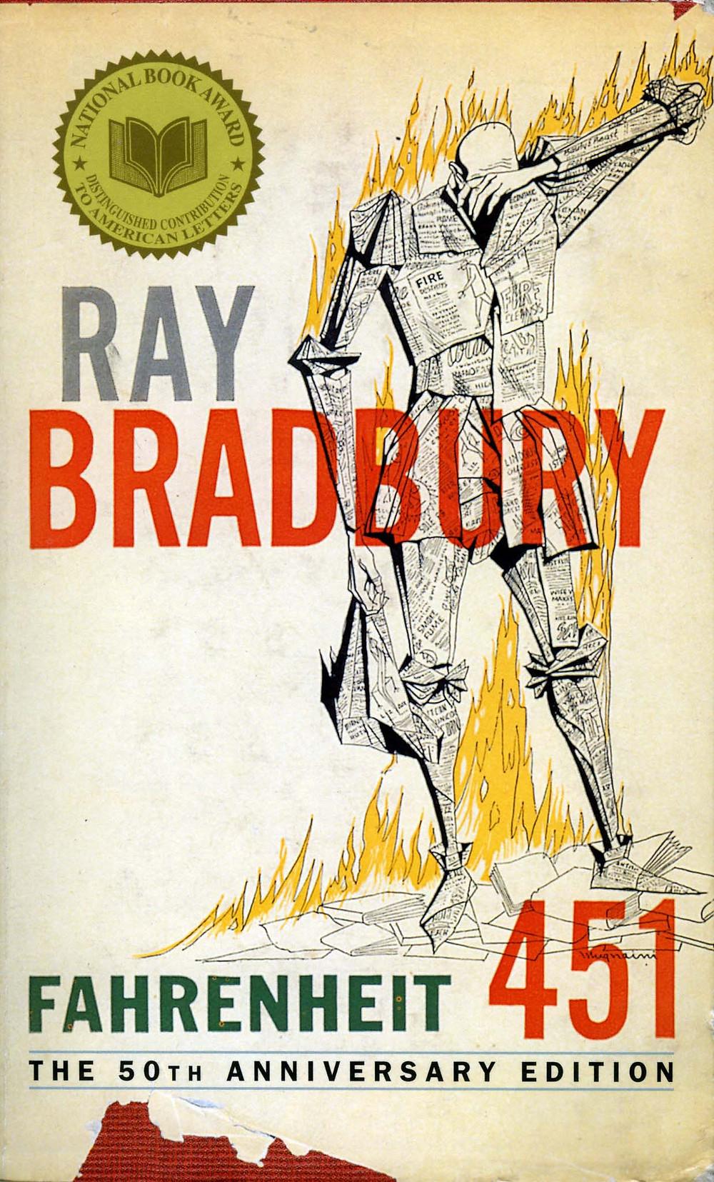 Fahrenheit 451-Ray-Bradbury-novel-50th-Anniversary