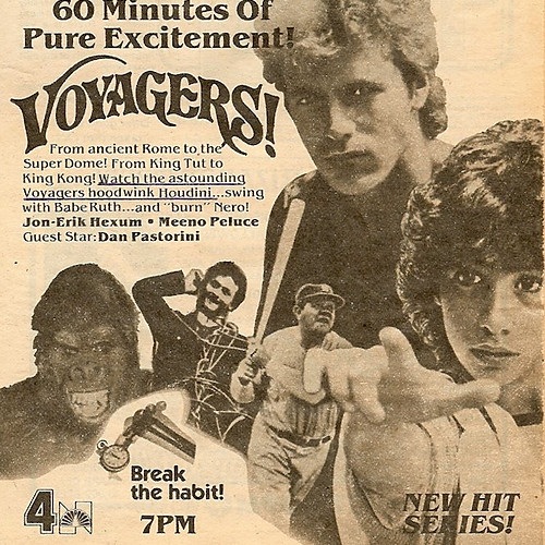 Voyagers! TV Guide Articles