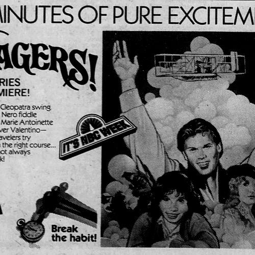 Voyagers! Newsprint