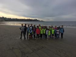 Great fun at sand beach