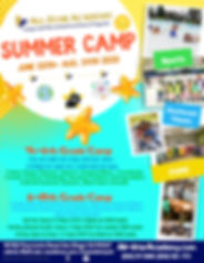 Copy of Copy of Kids Summer Camp Poster