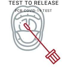 Test to Release PCR Test - Postal kit