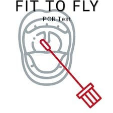Fit to Fly PCR COVID Test - Postal Kit