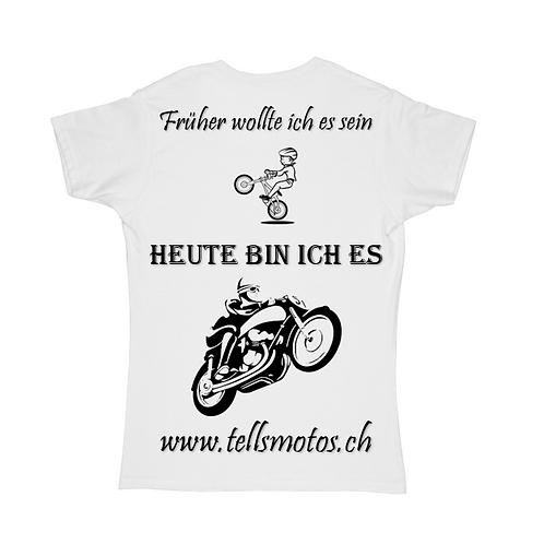 T-Shirt *Was ich heute bin*