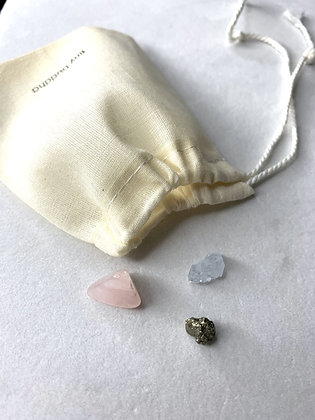 mini-shot healing stones by tiny buddha