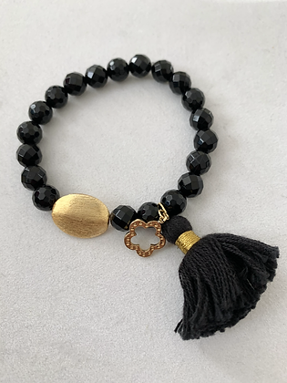 Sattva Bracelet with Black Onyx