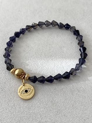 Sattva Bracelet with Iolite