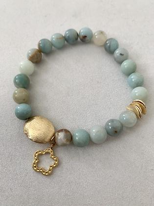 Sattva Bracelet with Amazonite