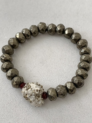 Sattva Bracelet with Pyrite