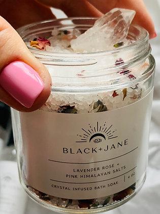 Pink Himalayan Salts Crystal-Infused Bath Soak