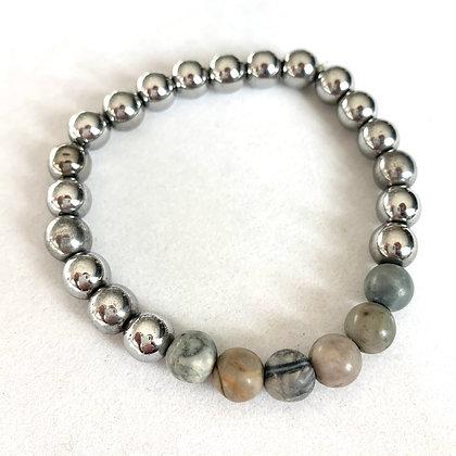 zen men's strength bracelet