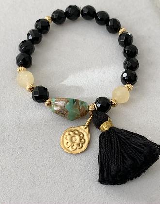 Sattva Bracelet with Onyx