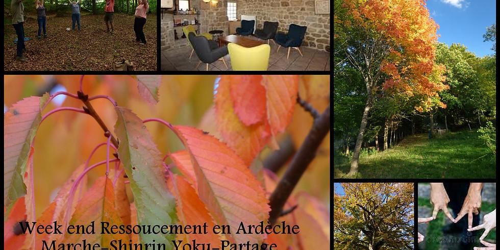 Week end ressourcement en Ardèche