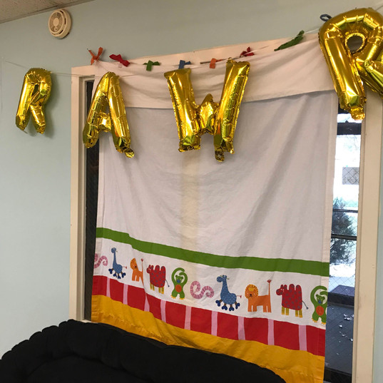Rawr Balloons