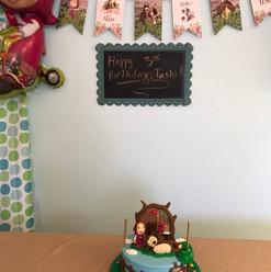 Themed Cake Area