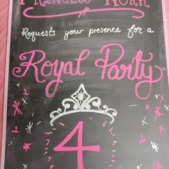 Princess Sign for Party Room