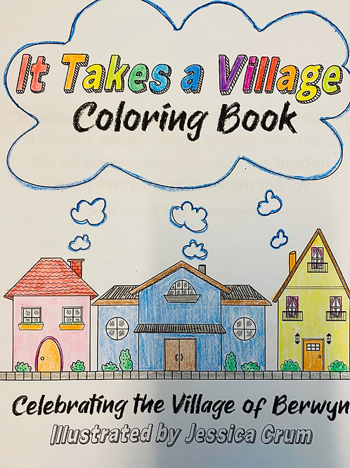 It Takes a Village Coloring Book (PDF)