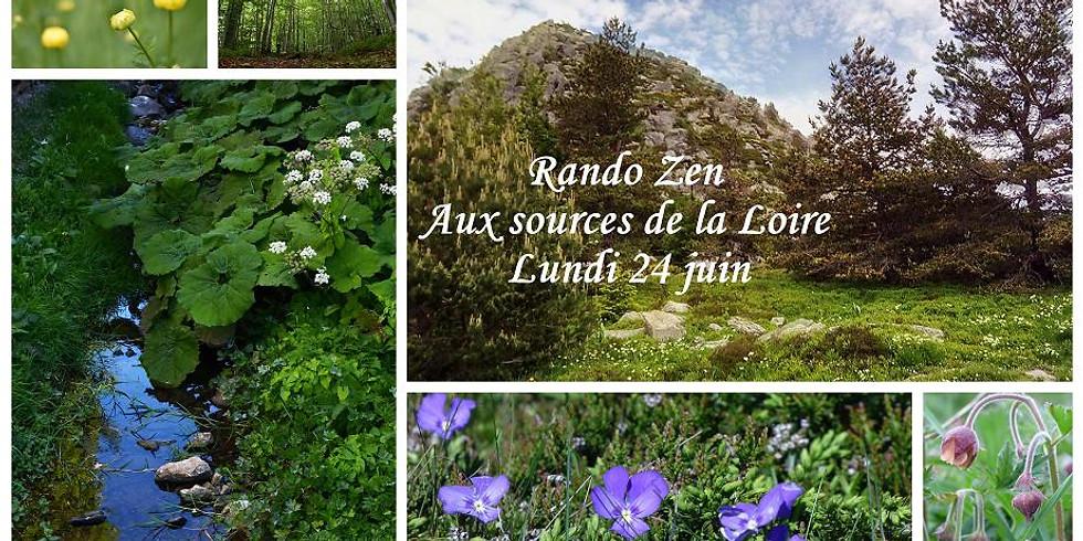 Rando Zen aux sources de la Loire