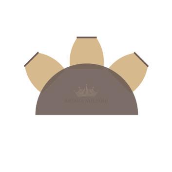 Tavolo mezzaluna