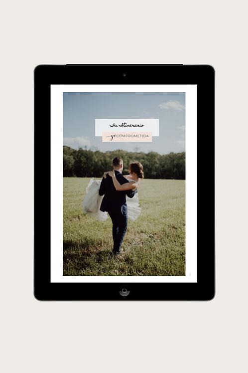 Formato Itinerario de tu boda