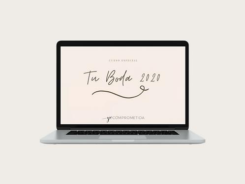 Curso Tu boda 2020