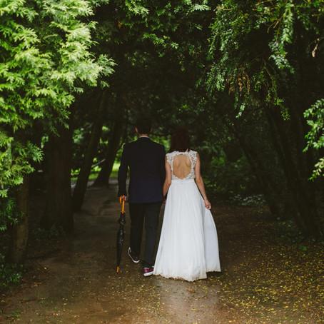 ¿Qué hacer si llueve el día de tu boda?