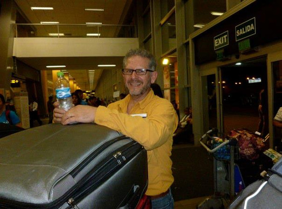 February 2013 Arrival to Peru mission base