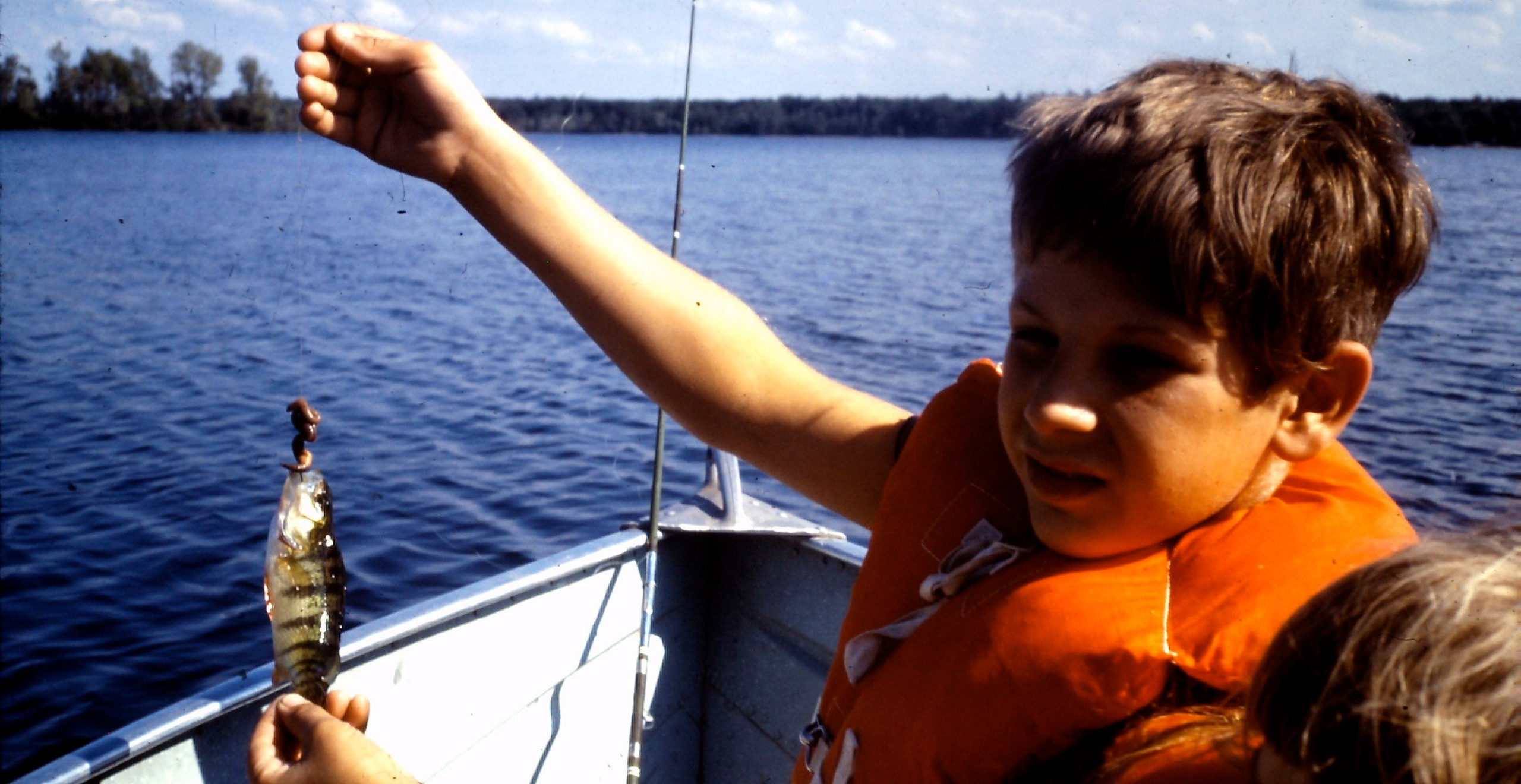 I loved fishing. In spite of my small catch my father captured a future Mark 1:17 fisher of men.