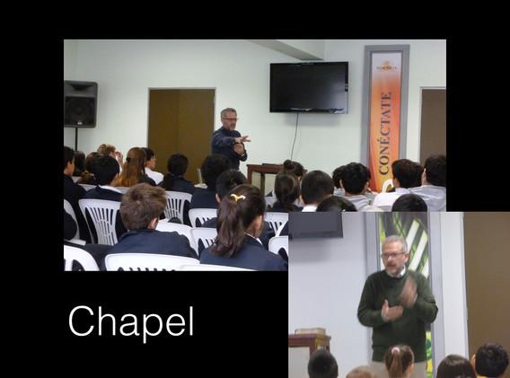 Weekly Bible Chaple