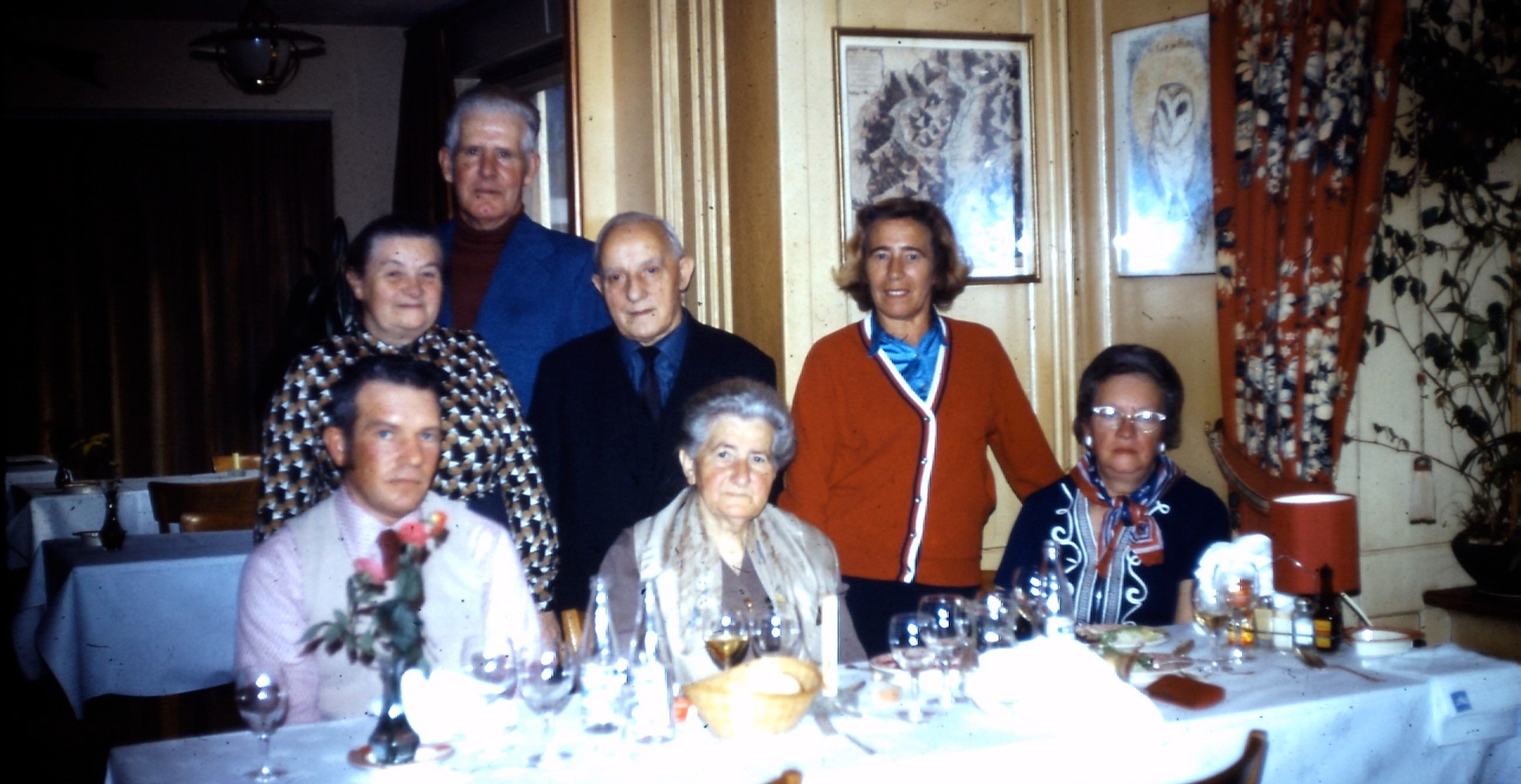 My parents took my grandparents to Switzerland to visit the home country. They returned with stories that captivated my imagination. I began dreaming of living somewhere overseas someday.