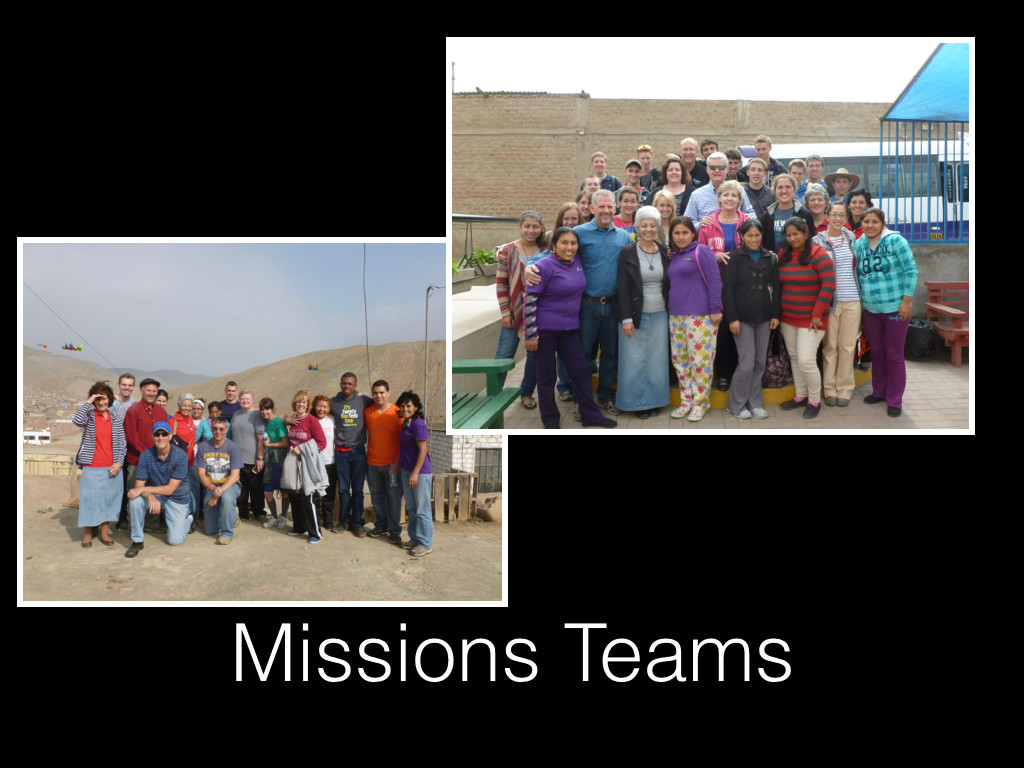 Visiting Mission Teams